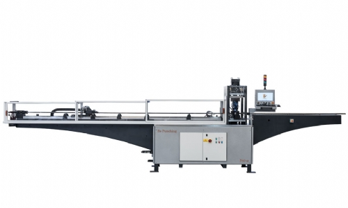 P80-2T Punching machine with a vertical hydraulic cylinder